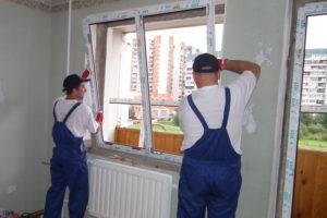 Установка пластиковых окон в Серпухове