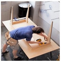 Сборка столов по низким ценам в Серпухове от специалистов