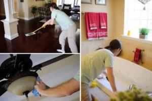 Уборка дома по доступной цене