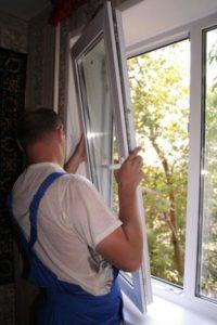 Замена створок пластиковых окон в Серпухове