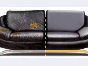 Перетяжка кожаного дивана в Серпухове