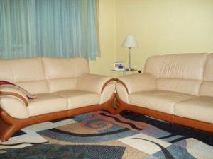 Перетяжка кожаной мебели в Серпухове